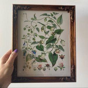Vintage Wooden Wall Frame Vintage Inspire Floral